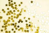 золотые звезды — Стоковое фото