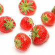 Stock Photo: Ripe strawberries