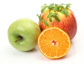 Fresh fruits — Stock Photo