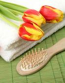 Temas para higiene pessoal — Foto Stock