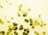 Gold confetti — Stock Photo