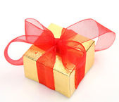 Box with gifts — Stock Photo