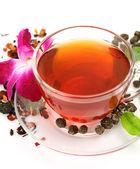 Mug with tea — Stock Photo