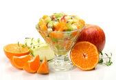 Salad from fresh fruit — Stock Photo