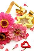 цветы и растяжка — Стоковое фото