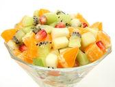 成熟的水果沙拉 — 图库照片