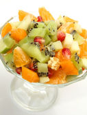 Salad from ripe fruit — Stock Photo