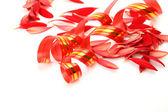 经幡和花瓣 — 图库照片