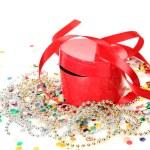 Red giftbox — Stock Photo #47238925