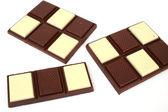 Chocolate bars — Stock Photo