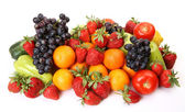 Fresh fruit and vegetables — Foto Stock