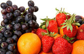 Fresh fruit and berries — Stock Photo