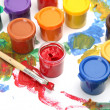 Brushes and paints — Stock Photo #50556719