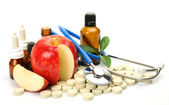 Subjects for treatment of illness — Stock Photo