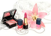 Dekorative kosmetik — Stockfoto