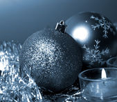 Nya året dekorationer — Stockfoto