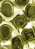 Doces de chocolate — Foto Stock