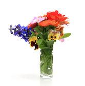 Bouquet in vase — Stock Photo