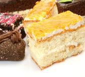 Deliciosos pasteles — Foto de Stock