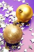 διακοσμήσεις νέο έτος — Φωτογραφία Αρχείου
