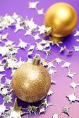 Decorações de ano novo — Foto Stock