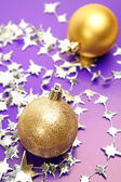 New year decorations — Stockfoto