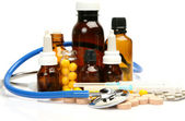 Subjects for medical treatment — Stock Photo
