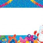 frontera de Navidad — Foto de Stock