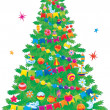 Christmas tree — Stock Photo #13613708