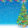 Christmas background — Stock Photo #13613742