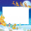 Christmas border — Stock Photo #16188859