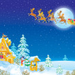 Foto Stock: Night before Christmas