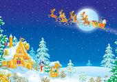 The night before Christmas — Stock Photo