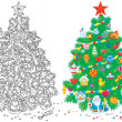 Christmas tree — Stock Photo #16190271
