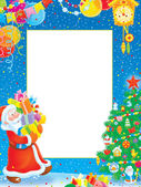 Vánoční hranice — Stock fotografie