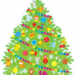 Christmas tree — Stock Vector #16264031