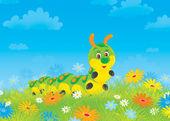 Gąsienica — Zdjęcie stockowe