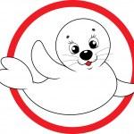Baby seal — Stock Vector #30853309
