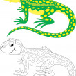 Stock Vector: Lizard