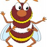 Bumblebee — Stock Vector