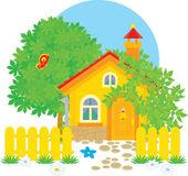 Village house — Stock Vector
