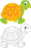 Tortoise — Stock Vector