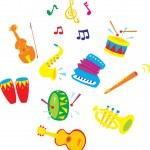 Music illustration — Stock Vector #30881585