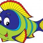 Green tropical fish — Stock Vector #30881649