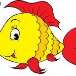 Coral fish — Stock Vector
