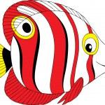 Tropical fish — Stock Vector #30882581