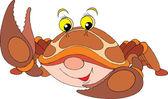 Spotty crab — Stock Vector