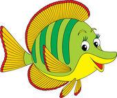 Korálové ryby — Stock vektor