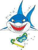 Shark — Stock Vector