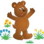 Happy brown bear — Stock Photo #31115209
